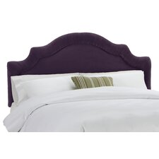 <strong>Skyline Furniture</strong> Velvet Arc Upholstered Headboard