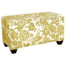 Upholstered Storage Canary Ottoman