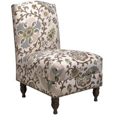 Silsila Nail Button Side Chair
