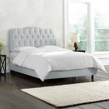 Shantung Panel Bed