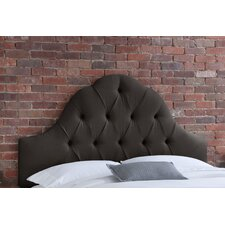 Arch Tufted Linen Headboard