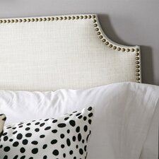 Nail Button Linen Upholstered Headboard I