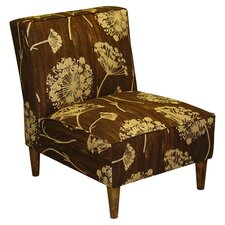 New England's Lace Slipper Chair