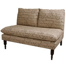 <strong>Skyline Furniture</strong> Settee Loveseat