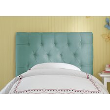 Tufted Micro-Suede Upholstered Headboard