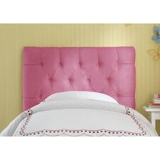 Tufted Micro Suede Upholstered Headboard