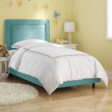 Border Micro Suede Youth Bed
