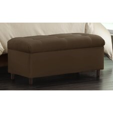 <strong>Skyline Furniture</strong> Tufted Storage Ottoman