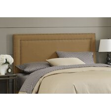 Nail Button Upholstered Headboard