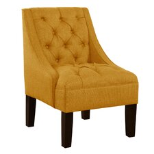 <strong>Skyline Furniture</strong> Tufted Swoop Armchair