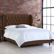 <strong>Skyline Furniture</strong> Wingback Bed