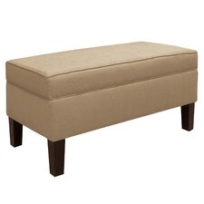 <strong>Skyline Furniture</strong> Patriot Upholstered Storage Bench