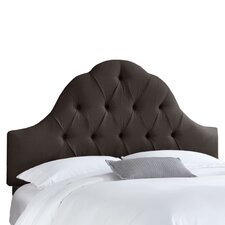 <strong>Skyline Furniture</strong> Arch Tufted Linen Headboard