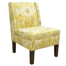 <strong>Skyline Furniture</strong> Wingback Parsons Side Chair