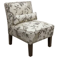 Roberta Fabric Slipper Chair