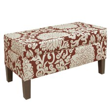 <strong>Skyline Furniture</strong> Athens Upholstered Storage Bench