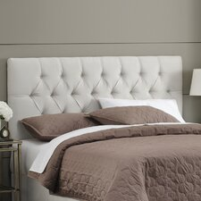 Micro-Suede Tufted Headboard