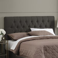 <strong>Skyline Furniture</strong> Micro-Suede Tufted Headboard