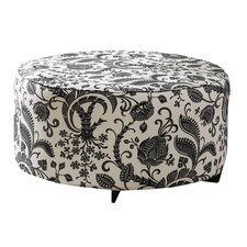 Lounge Fabric Cocktail Ottoman