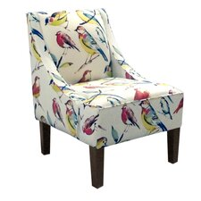 <strong>Skyline Furniture</strong> Swoop Fabric Arm Chair