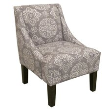 Swoop Fabric Arm Chair II