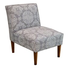 Fabric Armless Chair