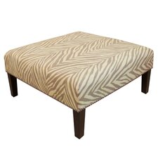 <strong>Skyline Furniture</strong> Nail Button Cocktail Ottoman