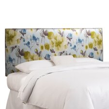 Nail Button Linen Headboard