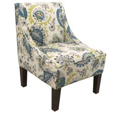 Swoop Fabric Arm Chair