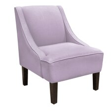 Swoop Linen Arm Chair