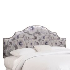 Nail Button Fabric Upholstered Headboard