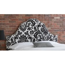 <strong>Skyline Furniture</strong> Fiorenza Upholstered Nail Button Headboard