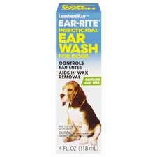 4 Ounces Ear-Rite Insecticidal Ear Wash