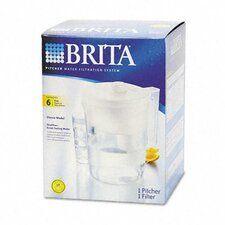 <strong>Brita</strong> Classic Pour-Through Water Filter Pitcher