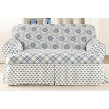 <strong>Sure-Fit</strong> Amelie Loveseat T-Cushion Slipcover