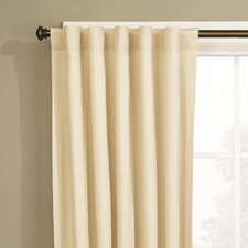 Natural Fabric Duck Curtain Single Panel
