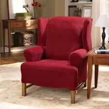 Stretch Pearson Wing Chair Slipcover