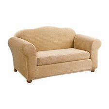 <strong>Sure-Fit</strong> Stretch Royal Diamond Loveseat Slipcover