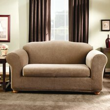 Stretch Stripe Two Piece Sofa Slipcover