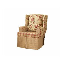 <strong>Sure-Fit</strong> Lexington Wing Chair T-Cushion Slipcover