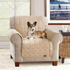 Soft Suede Pet Chair Cover