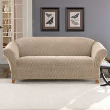 <strong>Sure-Fit</strong> Stretch Braid Sofa Slipcover