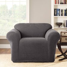 Stretch Metro 1-Piece Club Chair Slipcover