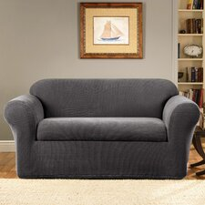 <strong>Sure-Fit</strong> Stretch Metro 2-Piece Loveseat Slipcover