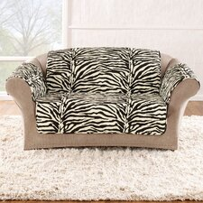 Zebra Quick Loveseat Slipcover