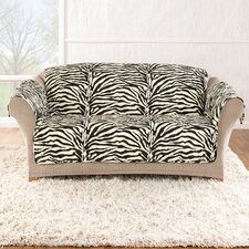 Zebra Quick Sofa Cover