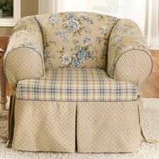 <strong>Sure-Fit</strong> Lexington Club Chair T-Cushion Slipcover