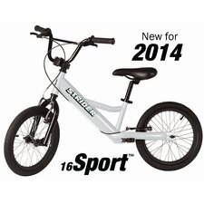 """Boy's 16"""" Sport No-Pedal Balance Bike"""