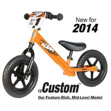 "Boy's 12"" Sport No-Pedal KTM Balance Bike"