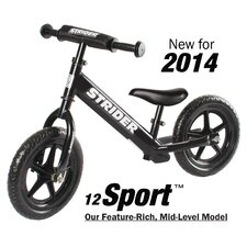 "Boy's 12"" Sport No-Pedal Balance Bike"